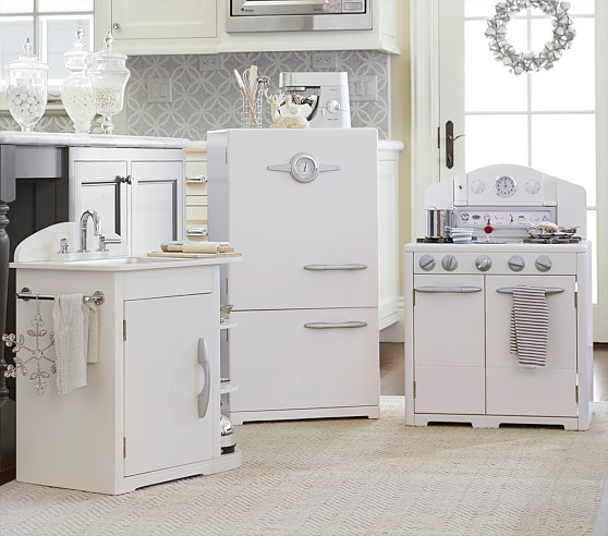 Retro Play Kitchen Collection Pottery Barn Kids