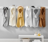 Potterybarn west elm x pbk Critter Baby Hooded Towel Collection