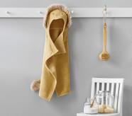 Potterybarn west elm x pbk Lion Bath Baby Hooded Towel