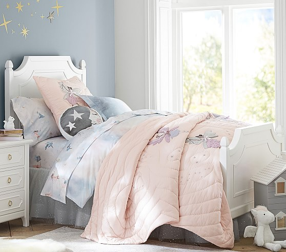 Organic Celeste Fairy Kids Sheet Set Pottery Barn Kids