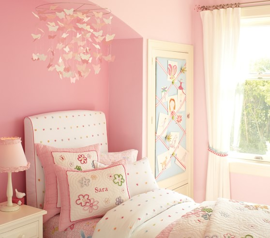 Pink Paper Butterfly Ceiling Baby Mobile Pottery Barn Kids,Anime Black And White Wallpaper Phone