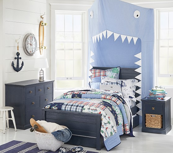 Charlie Low Footboard Kids Bed Pottery Barn Kids