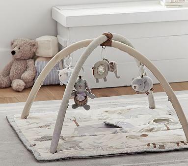Potterybarn Animal Friends Classic Baby Activity Gym