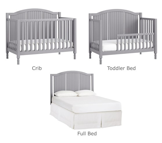Catalina 3 In 1 Convertible Baby Crib, Baby Cribs That Convert To Queen Beds