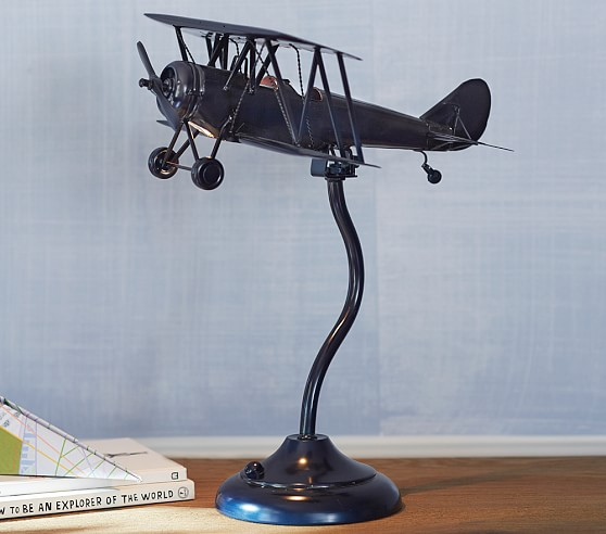 Airplane Task Lamp Kids, Aviation Desk Lamp