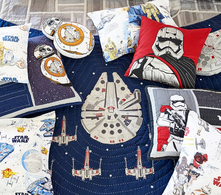 Star Wars Millennium Falcon Kids Comforter Set