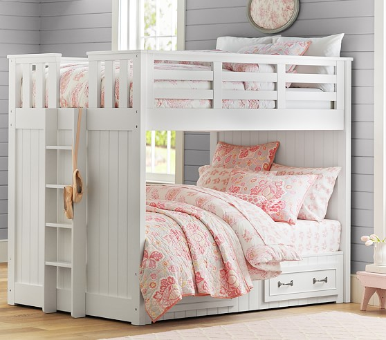 Belden Full Over Full Kids Bunk Bed Pottery Barn Kids
