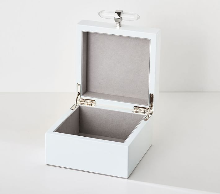 Crystal Lacquer Kids Jewelry Boxes | Pottery Barn Kids
