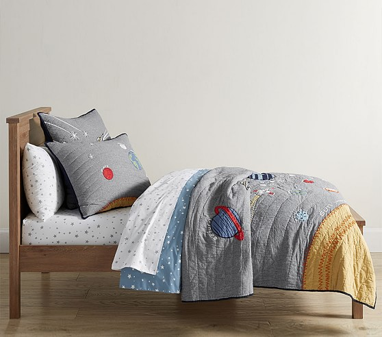 Outer Space Bedding Look Pottery Barn Kids