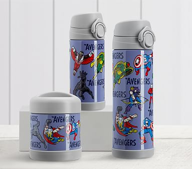 Marvel Glow In The Dark Avengers Thermos Food Storage