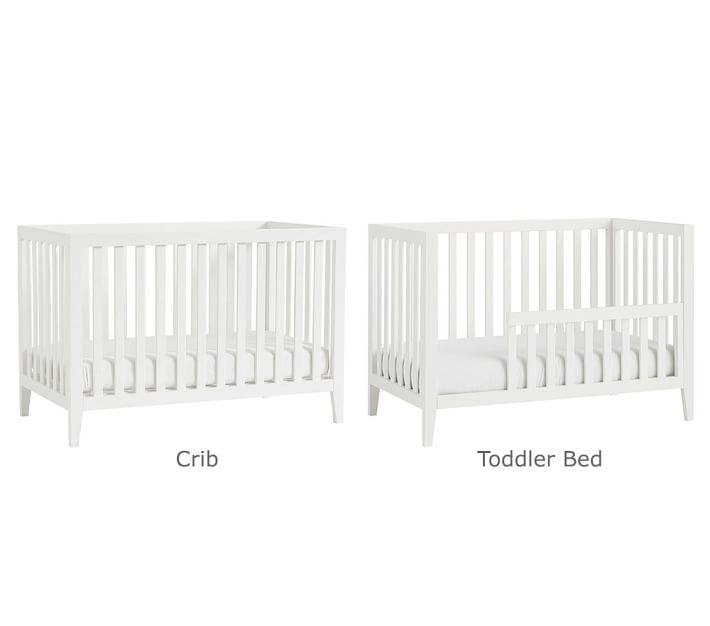 Marlow Convertible Baby Crib Pottery Barn Kids