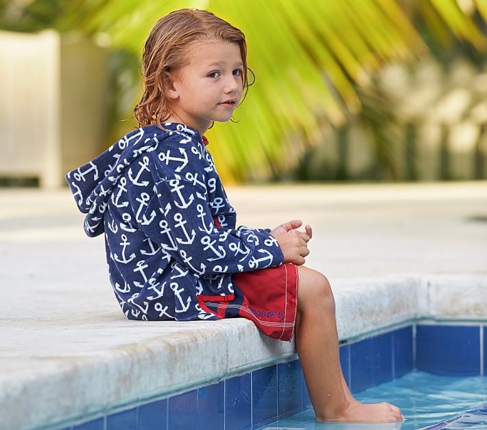 Anchor Kids Swim Cover Up | Pottery Barn Kids