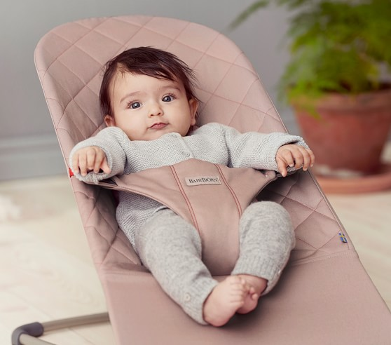 Babybjorn Quilted Cotton Baby Bouncer Bliss Baby Rockers Pottery Barn Kids
