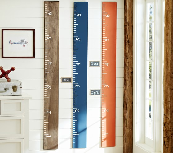 Personalized Kids Growth Charts Pottery Barn Kids