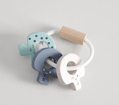 Potterybarn Plan Toys x pbk Key Rattle