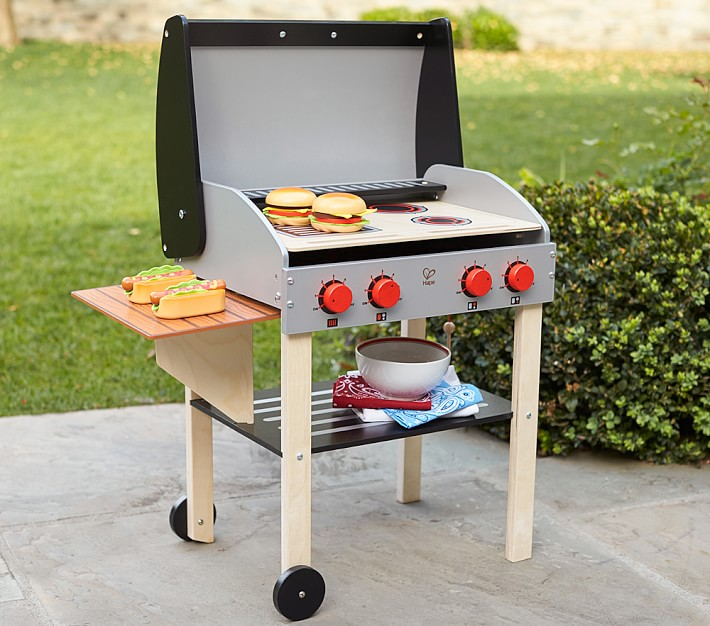 Outdoor Play Grill Toy Kitchen Accessories Pottery Barn Kids
