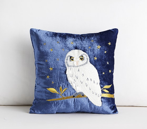 Harry Potter Owl Nursery Throw Pillow Pottery Barn Kids