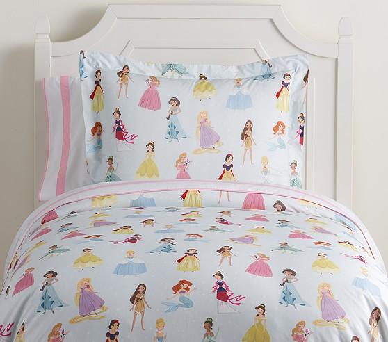 Disney Princess Kids Duvet Cover, Disney Princess Queen Bed Set