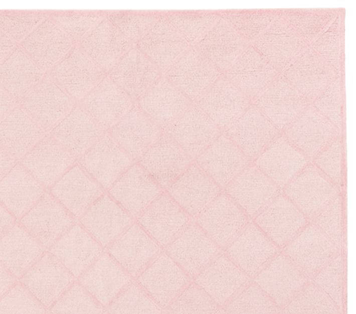 Lux Trellis Rug Pink Patterned Rugs Pottery Barn Kids