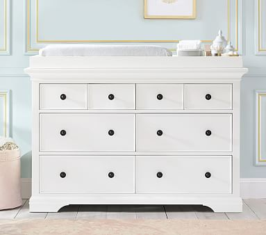 Larkin Extra Wide Changing Table Dresser Amp Topper