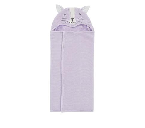 Potterybarn Kitty Baby Hooded Towel