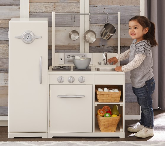 All In 1 Retro Play Kitchen Pottery Barn Kids