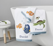 Potterybarn Disney and Pixar Finding Nemo Towel Collection