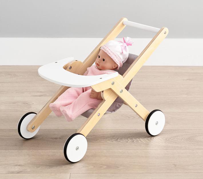 Wooden Umbrella Doll Stroller | Pottery Barn Kids