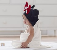 Potterybarn Disney Minnie Mouse Baby Hooded Towel