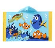 Potterybarn Disney and Pixar Finding Nemo Beach Kid Beach Hooded Towel