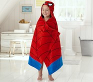 Potterybarn Spider-Man Hooded Towel