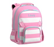 Potterybarn Fairfax Pink & White Stripe Girls Backpacks