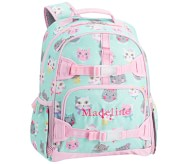 Potterybarn Mackenzie Aqua Pink Princess Kitty Girls Backpacks