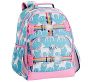 Potterybarn Aqua Unicorn Kids Backpack
