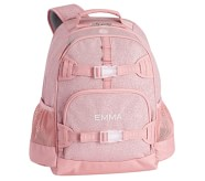 Potterybarn Pink Sparkle Glitter Kids Backpacks