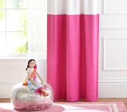 Potterybarn Color Block Kids Blackout Curtain