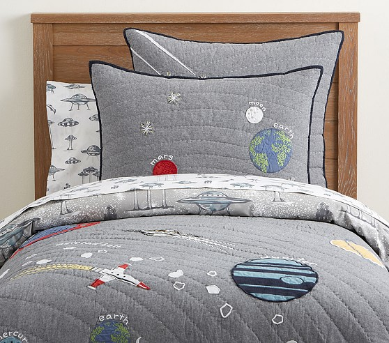 Outer Space Kids Comforter Set Pottery Barn Kids