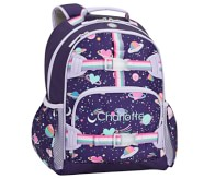 Potterybarn Mackenzie Rainbow Heart Galaxy Glow-in-the-dark Backpacks