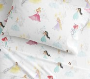 Potterybarn Disney Princess Castles Organic Kids Sheet Set