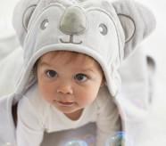 Potterybarn Koala Baby Hooded Towel