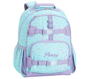Potterybarn Mackenzie Aqua Nadia Dot Backpacks