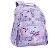 Potterybarn Mackenzie Lavender Playful Horses Backpacks