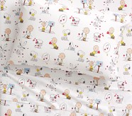 Potterybarn Peanuts Valentines Kids Sheet Set