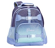 Potterybarn Mackenzie Twilight Ombre Sparkle Glitter Backpacks