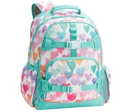Potterybarn Mackenzie Rainbow Hearts Backpacks