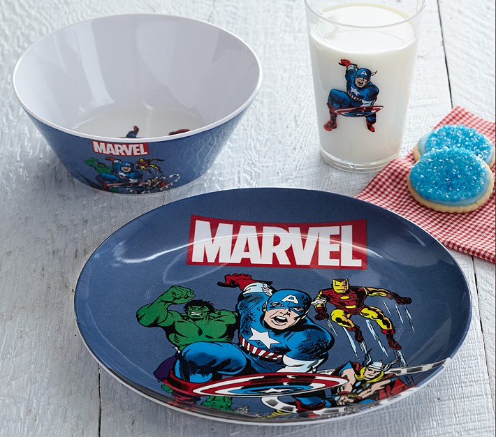 birthday gift Small child Bowl personalized porcelain SUPER hero