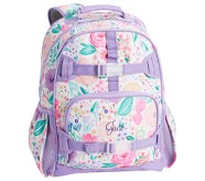 포터리반 라벤더 블룸 가방 (초등 선물 추천) Potterybarn Mackenzie Lavender Floral Blooms Backpacks