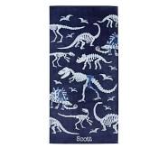 포터리반 Potterybarn Dino Bones Kids Beach Towel