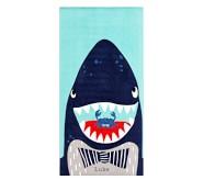 포터리반 Potterybarn Shark Portrait Kid Beach Towel