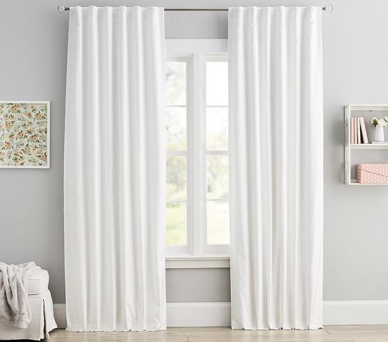Shimmer Velvet Kids Blackout Curtain, Shimmer Curtain Panels